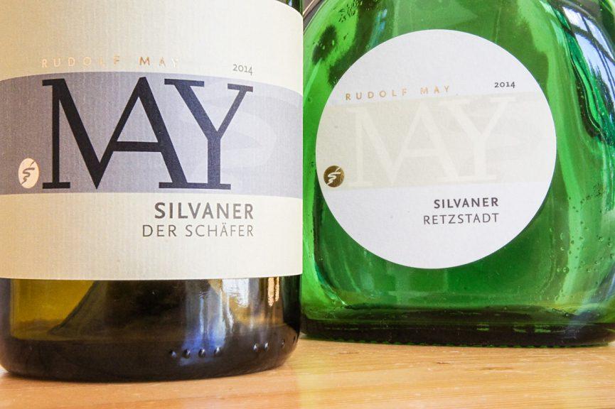 Zwei Silvaner von Rudolf May