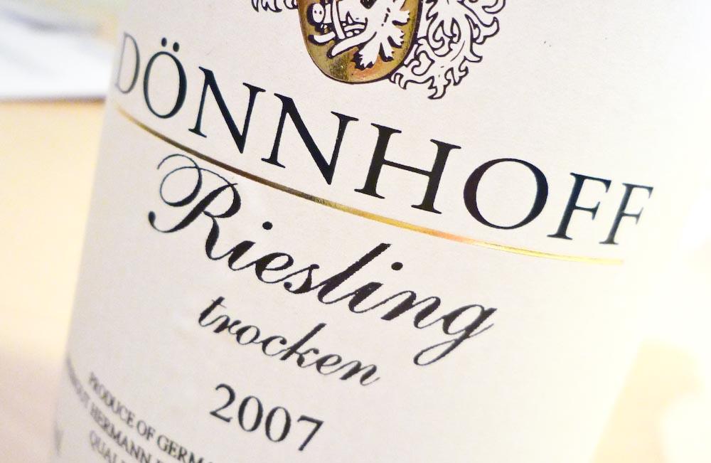 Dönnhoff Riesling 2007 (1 von 1)