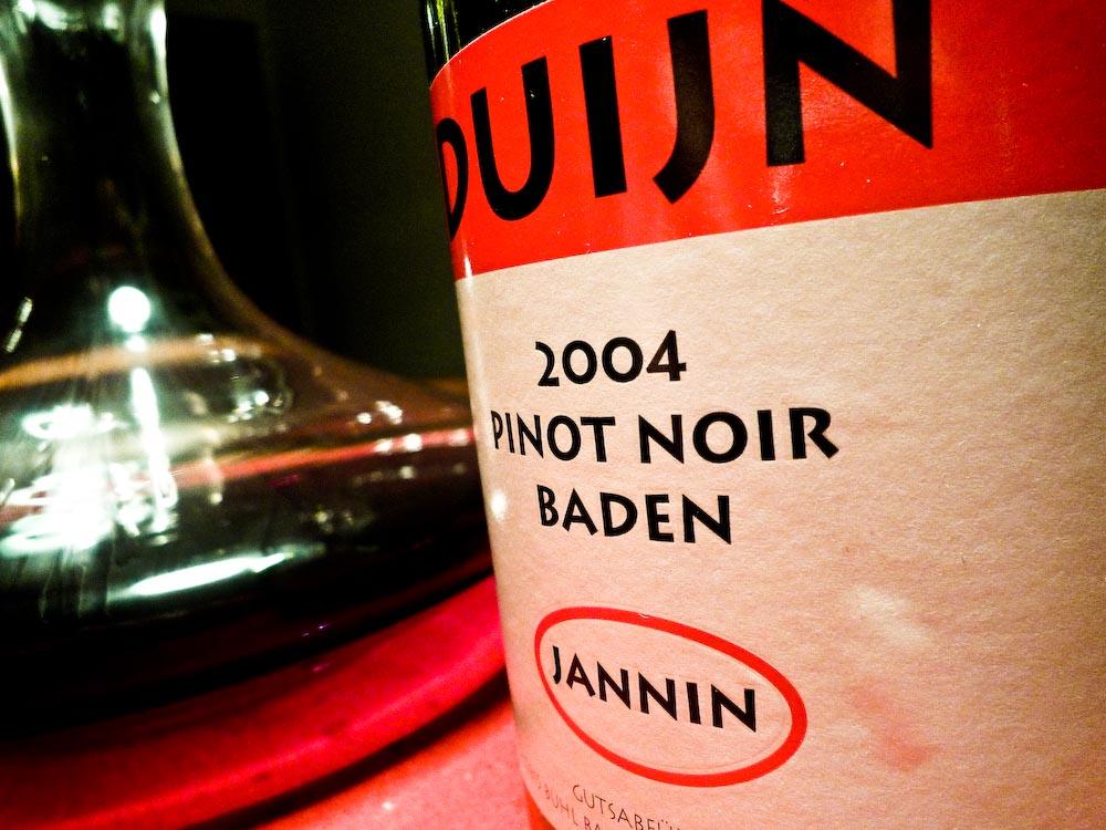 Duijn Pinot Noir Jannin 2004 (1 von 1)