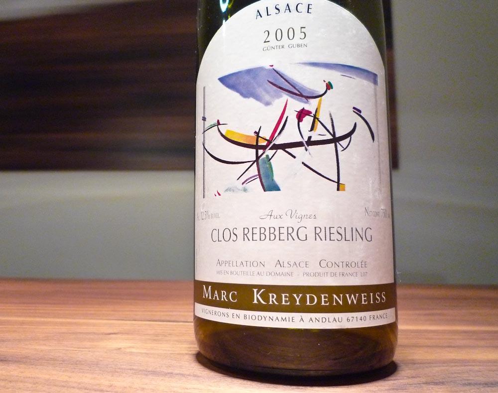 Kreydenweiss Clos Rebberg Riesling 2005 (1 von 1)