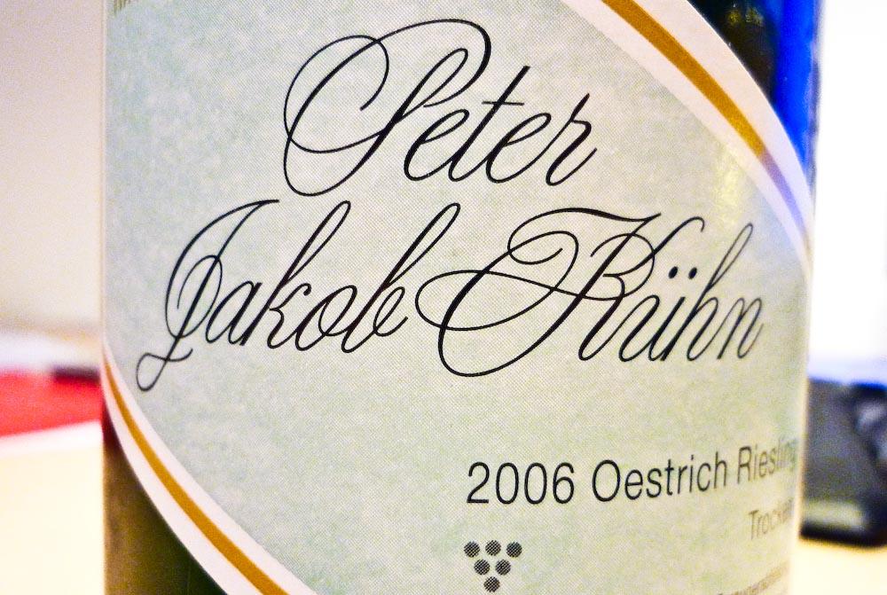 Kühn Oestrich Riesling 2006 (1 von 1)