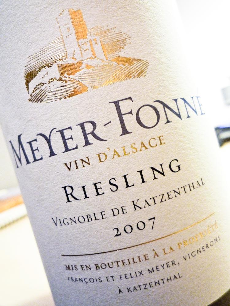 Meyer-Fonne Riesling Katzenthal 2007 (1 von 1)