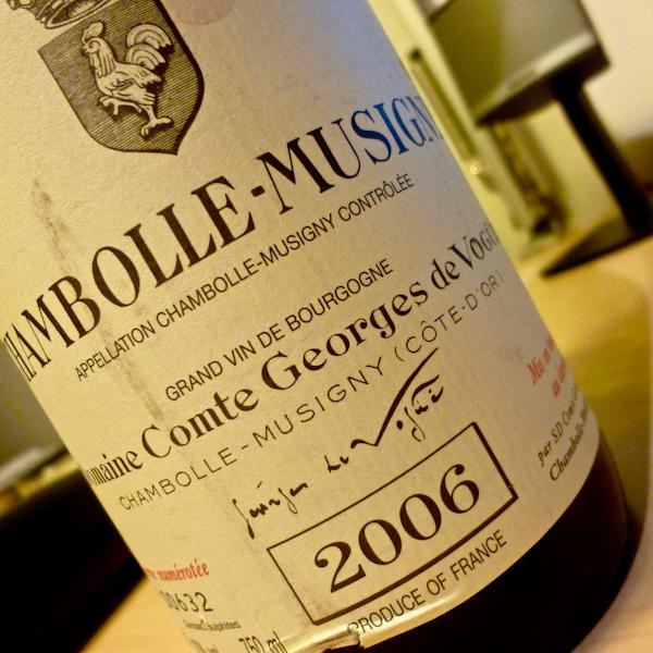 Comte de Vogüe Chambolle-Musigny, 2006-100