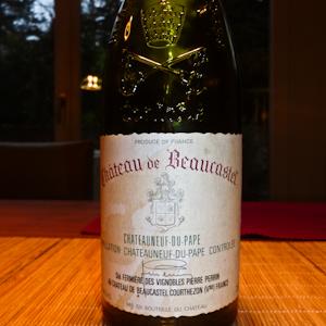 Beaucastel 1995-100