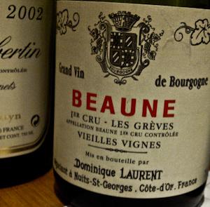 Laurent Beaune Les Gréves, 2001-100