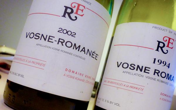 Rene Engel Vosne-Romanée 2002 & 1994-100
