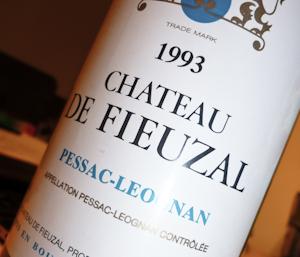 Chateau de Fieuzal Blanc, 1993 (100 von 1)