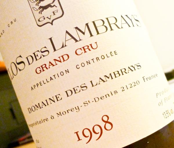 Clos des Lambrays, 1998 (100 von 1)