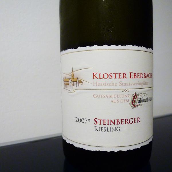 Kloster Eberbach Steinberger Cabinetkeller, 2007 (100 von 1)