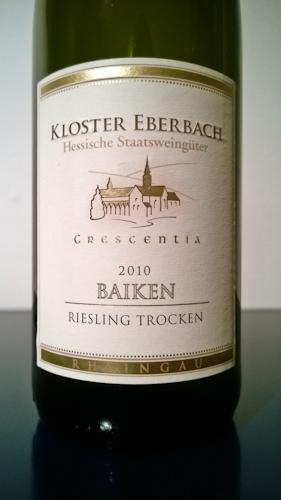 Eberbach Baiken Kabinett trocken, 2010 (100 von 1)