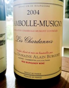 Burguet Chambolle Musigny Les Chardannes, 2004 (100 von 1)