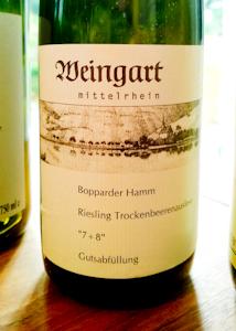 Weingart Bopparder Hamm TBA 7+8 (100 von 1)