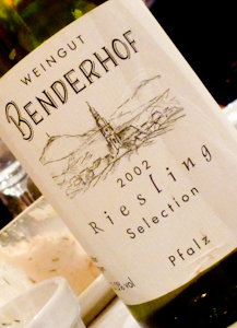 Benderhof Riesling Selection, 2002 (100 von 1)