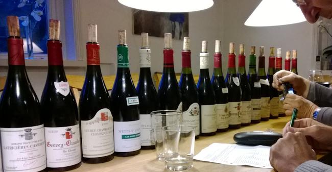 Burgunder-Probe
