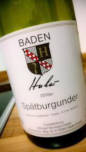 Huber Spätburgunder, 2010 (100 von 1)