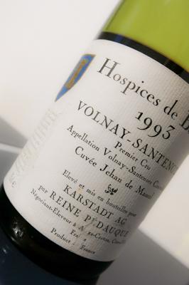 Reine Pédauque Volnay-Santenots 1993 (100 von 1)