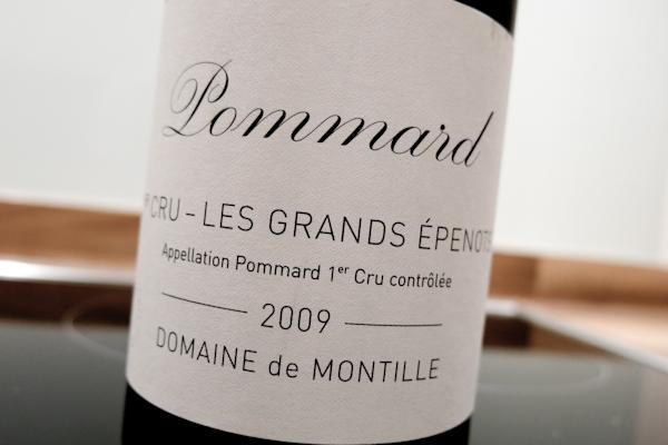 Montille Pommard Grands Epenots, 2009 (100 von 1)