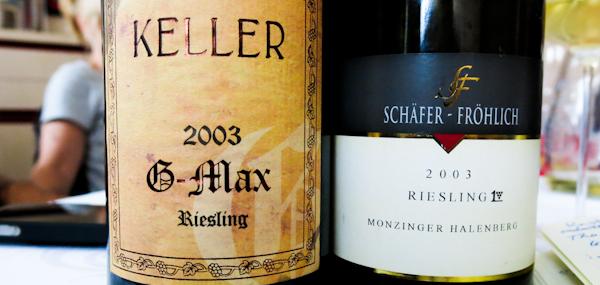 Oberhausen Riesling 2002 und 2003 Titel (100 von 1)