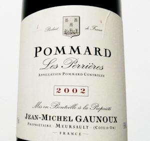 Gaunoux Les Perrieres, 2002 (100 von 1)