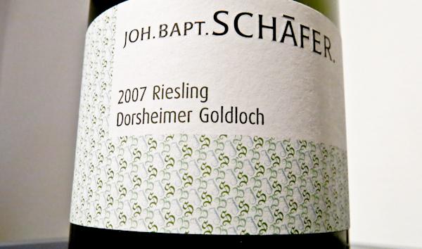 Joh.Babt.Schäfer Goldloch, 2007 (100 von 1)