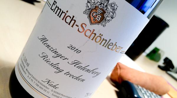Emrich-Schönleber Monzinger Halenberg trocken, 2010 (100 von 1)