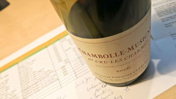 Clerget Chambolle-Musigny Les Charmes, 2006 (1 von 1)