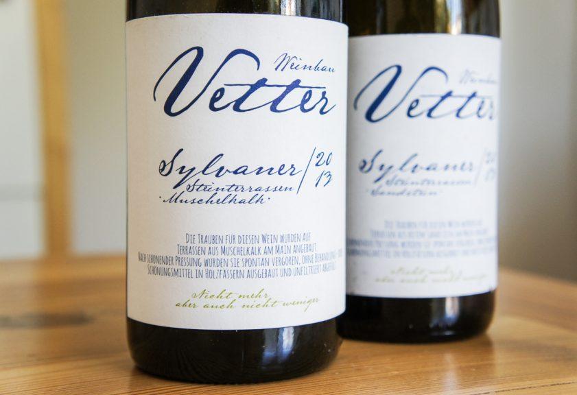 Weinbau Vetter Sylvaner Felsterrassen