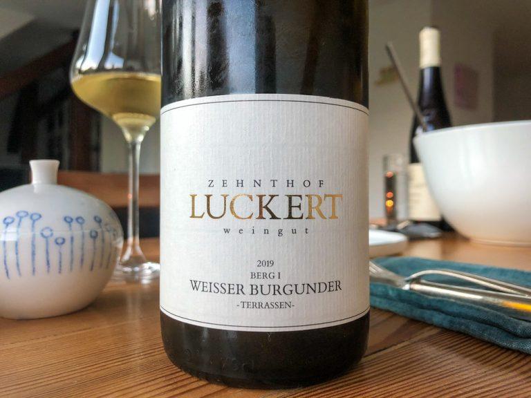 Zehnthof Luckert Weisser Burgunder Terrassen Berg I 2019